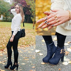 Angelika Martko - Blouse, Bag, Boots, Jewerly - IT`S JUST A BAD DAY, NOT A BAD LIFE