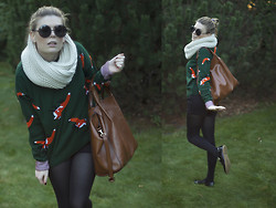 Marquise De Vulpes - Zara Bag, Oasap Sunglasses - Foxes in fiction to go home