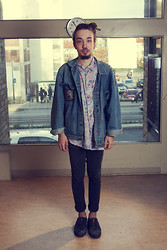 Timothy Pettersson - Acne Studios Pants, Acne Studios Shoes, Second Hand Shirt - Tired