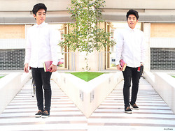 Aris Oliveros - H&M Shirt, Alcott Pants, Vans Sneakers - Heavenly