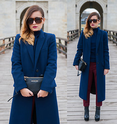 Kinga StyleOn - Zara, Aldo, Michael Kors - Long Coat