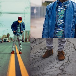 Chad Johnson - Undefeated Undftd Baseball, Topman, Minnetonka Fringe Boot - Gloomy