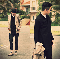 Style Detective Men's Lookbook -  - Black Promise.