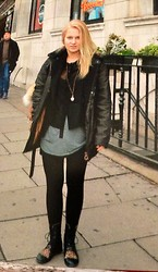 Annika Summer - Urban Outfitters Top, Urban Outfitters Bluse, Wellensteyn Jacket, Liebeskind Berlin Bag - Ms ^.^