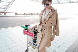Chiao Wen - Min Lynn & Co. Car Coat - Go to San Diego
