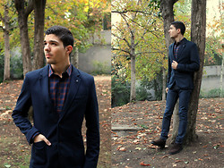 Fran Garde - Zara Blazer, Zara Shirt, Pull & Bear Jeans, Enzo Tesoti Shoes - Autumn Colors