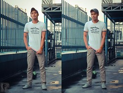 Rodel Flordeliz - Ny Cap - OOTD #017: In to the Game!