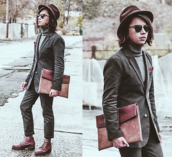 Denny Balmaceda - Marc By Jacobs Suit - COLLEGE DROPOUT.