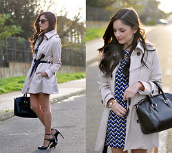 Alba . - Oasap Trench, Oasap Bag, Sunglasses - ...Trench Coat...
