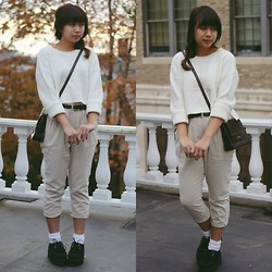 Linh Vu - Creepers, Forever 21 Sweater - No.