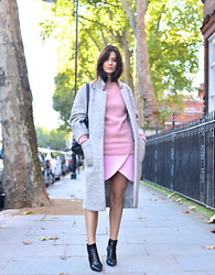 Hedvig ... - Carven Wool Skirt, Ymc Wool Knit, Jimmy Choo Boots - Double up!