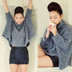 Minh Nguyen - Zara Sweater, River Island Shorts - Lazy tuesday