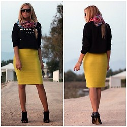 Aysun Karaalioglu - Zara Sweat, Koton Skirt, Topshop Heels - The winner