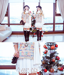 Olga Choi - Chic Wish Skirt, Chic Wish Sweater, Choies Bag - Never early to dream about miracles