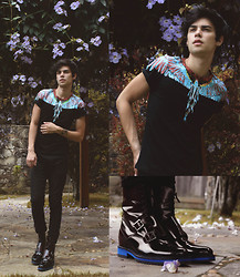 Vini Uehara - Zealotries T Shirt, Guidomaggi Dublin - Wings
