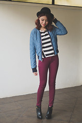 Tricia Gosingtian - Gap Jacket, Gap Pants - Gap styld.by: Cool City