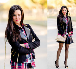 Maria Jesus Garnica - Choies Shirt, Chic Wish Skirt, Chinese Laundry Shoes - Grunge Chic