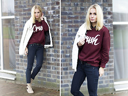 Anita VDH - The Sting Amy & Ivy Sweater, H&M Jeans, Leemans Boots, H&M Fluffy Coat - Got a Crush