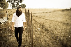 Michael Cebrera - Old Navy Beanie, H&M Scarf, H&M Shirt, Forever 21 Pants - Tranquility.