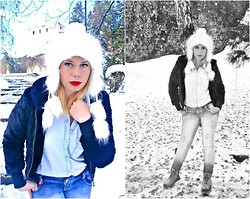 Lella M. - Zara Shirt - Snow Time
