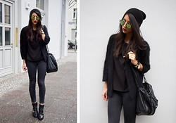 Kayla Seah -  - All Black + Bold