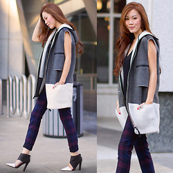 Jenny Tsang - Vest, Booties - Shining Bright