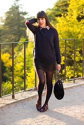 Catarine Martins - Asos Love Jumper, Zara Lingerie Skirt - Poker Face