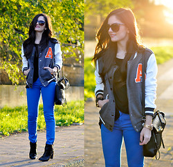 Alba . - Sheinside Jacket, Persun Bag, Wow Vintage Sunglasses - ...A is Back...