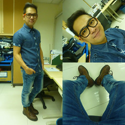 Emmarc Ancajas - Rough Rider Jeans Maong To Maong, Dcn Jeans Maong To Maong - Maong to Maong