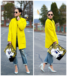 Veronica P - Zara Coat, 3.1 Phillip Lim Bag - Tears for Fears