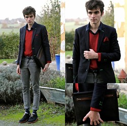 "Matthias C. - Tailor 4 Less Made To Measure Blazer, Sweater, Cheap Monday Jeans, Shoes - ""Iris"""