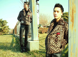 Chris Su - Devil Nut Jacket - Leopard