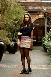 Kate M - Topshop Skirt - All the colours