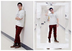 Zackie C. - Uniqlo Corduroy Pants, Steve Madden Boots - Tell Me How To Style