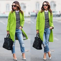 Mariann Mezo Sidibe Karen Walker Sunglasses Zara Shirt