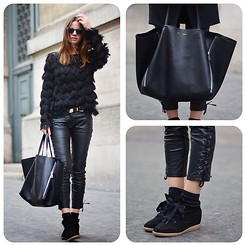 Zina CH - Céline Bag, Isabel Marant Sneakers - Isabel Marant On Me