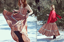 Jenna O - Cathouse Vintage Prairie Princess Gunne Sax Dress - L'hiver