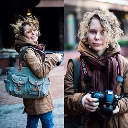 Masha MM - Pull & Bear Outerweather, S.Oliver Bag - Take a camera!