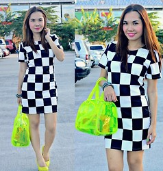 Julie Lozada - Primadonna Shoes, Sm Parisian Bag, Dress - CheckMate