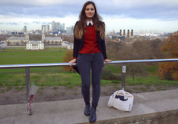 Bianca . - Primark Skinny, Zara Sweater, H&M Coat - In love with this city