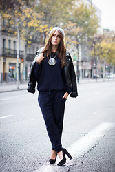 Lucita Y - Zara Jumpsuit, Mango Shoes - CUTE JUMPSUIT
