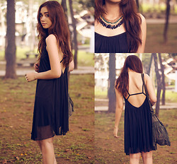Aileen Belmonte - Tracyeinny Dress, Banggood Necklace - Strings