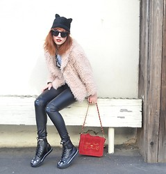 Amy Roiland - My Blog Cat Hat, T.U.K Footwear Cat Boots - CAT TOWN USA