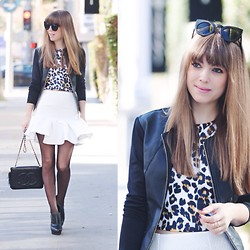 Jenny . - Asos Frill Shirt - Spotted