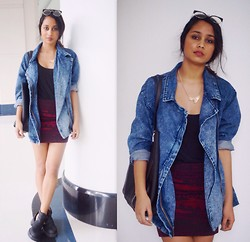 Alida Leclercq - Forever 21 Jacket, Urban Outfitters Skirt - Talamak