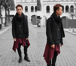 Christian Chou - Chronicles Of Never, Zara, Polo Ralph Lauren Vintage, Nudie Jeans Tube Kelly - ▼▽ Stockholm ▽▼