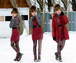 Chloe A - Land's End Comfy, Swaychic Best Ever, Eddie Bauer Classic, Dr. Martens Of Course - Please have snow & mistletoe
