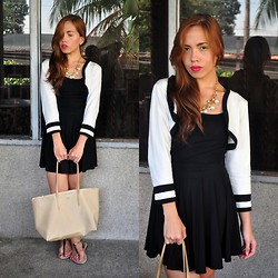 Rovie D. - Redhead Sm Gtw Blazer, Freeway Top, Cinta Manila Skirt, Lacoste Bag - Safe and Sound