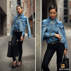 Micah Gianneli - Levi's® Denim Jacket - Triple Denim