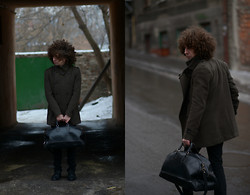 SexPotato . - Bershka Coat - Doctors bag